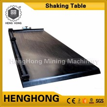 Jiangxi Shicheng alluvial gold mining sluices dressing shaking table for gravity