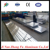 Long span 1000 series Aluminum sheets for corrugated aluminum roofing sheets