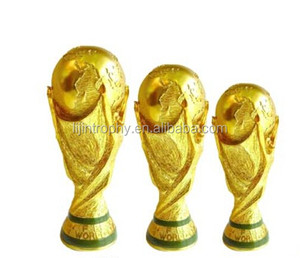 China manufacturer 2014 high quality world cup trophy replica for souvenirs