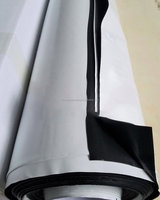 Polyethylene PE Material Heavy Duty Hydroponic White and Black Panda Poly Plastic Film for Agriculture Greenhouse Cover