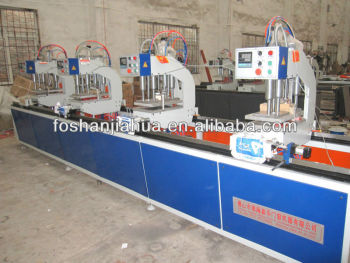 Four Head Welding Machine./Windows And Doors Machine