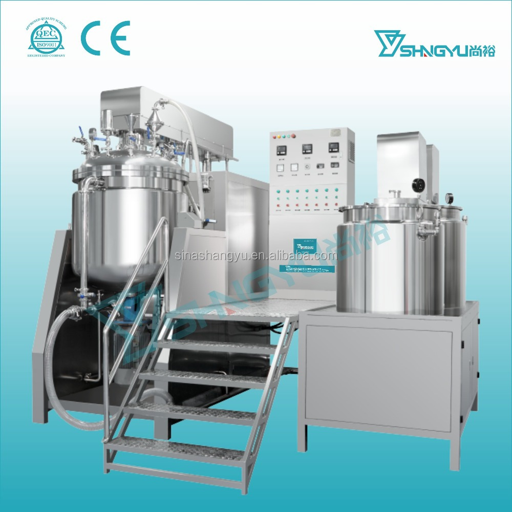 Ss 316 and prower Capabilities cream/paste/vacuum hNew Conditioomogenizer emulsifier mixer for cosmetic with high quality