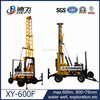New 600m XY-600F China machinery supplier water well drilling rig used for wells and core sample