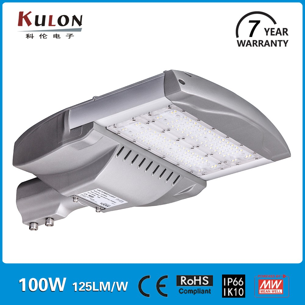 CE Rohs Ul approved IP66 Aluminum 100W led street light