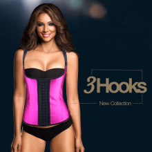 Ann Chery close-fitting latex girdle vest for women