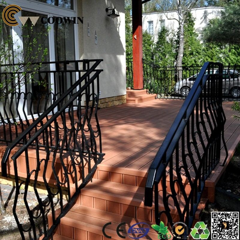 very thick bridge wpc deck plastic composite plank