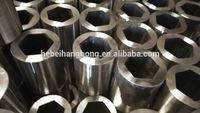 Trade Assurance Supplier Hot Forging hollow hexagonal stainless steel pipe