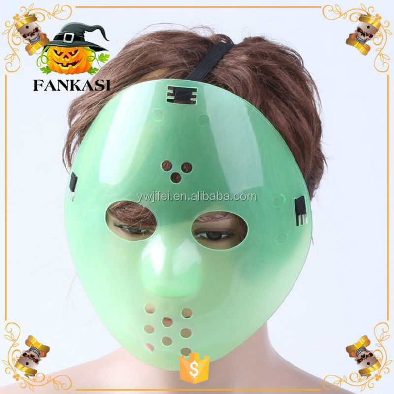 Wholesale Plastic Halloween Party Hockey Mask