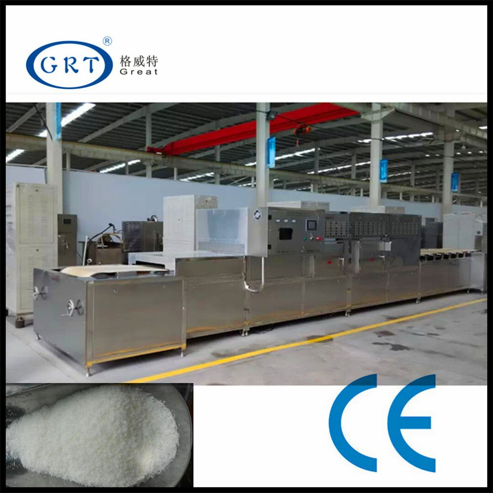industrial Microwave drying sterilizer machine for desiccated coconut