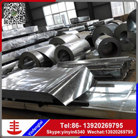 galvanized steel roof plates ppgi 0.6 color steel roof panel zinc coated steel coil from china