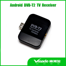 Wholesale tv terrestrial receiver pad phone micro usb tv tuner dvb-t2