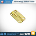 steel plated brass round cabinet hinge