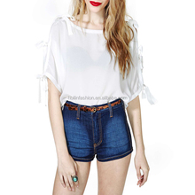 ladies chiffon blouse designs wholesale/pictures of clothes women