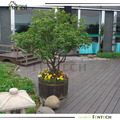 hot sale high quality waterproof pvc ASA decking