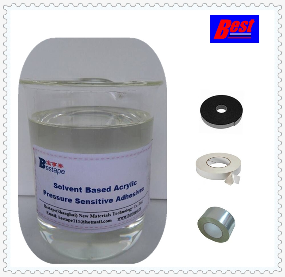 Solvent Based Acrylic pressure sensitive adhesive,solvent acrylic adhesive for