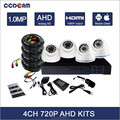 cctv security hd 720p hot selling ahd dvr kit 4 cameras