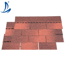 SGB Color Stone Coated Roofing Shingles Red Asphalt Shingles Roofing Tile