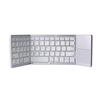 Ultrathin Alum Triple Foldable Wireless Bluetooth Keyboard with Touchpad for iOS Android Windows