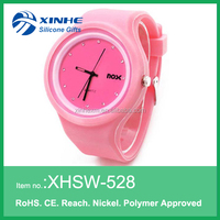 Ladies Women Girl Geneva Silicone Quartz Jelly Wrist Watch removable face