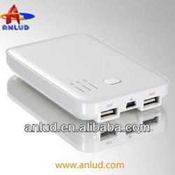 ALD-P01 Portable USB Mobile Power Bank Battery Charger 5000mAh for Apple (iPad/iPhone/iPod) PSP, most phones and digital cameras