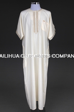 Factory direct islamic clothing arabian thobe moroccan kaftan for men
