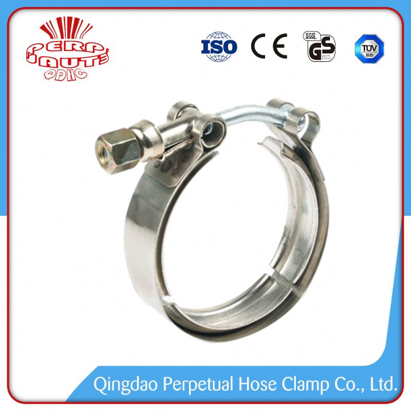European Style Fashionable Steel T Bolt Super Power Hose Clamp