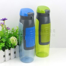 BPA Free plastic Protein Powder Shake Bottles with Storage Compartment / Pill Box