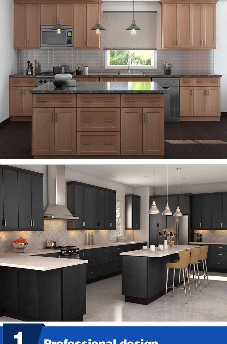New quality kitchen simple design modern kitchen cabinet