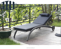 outdoor rattan hotel resort Beach Lounger Chair