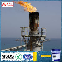 high temperature paint for flare stacks chimneys pipework