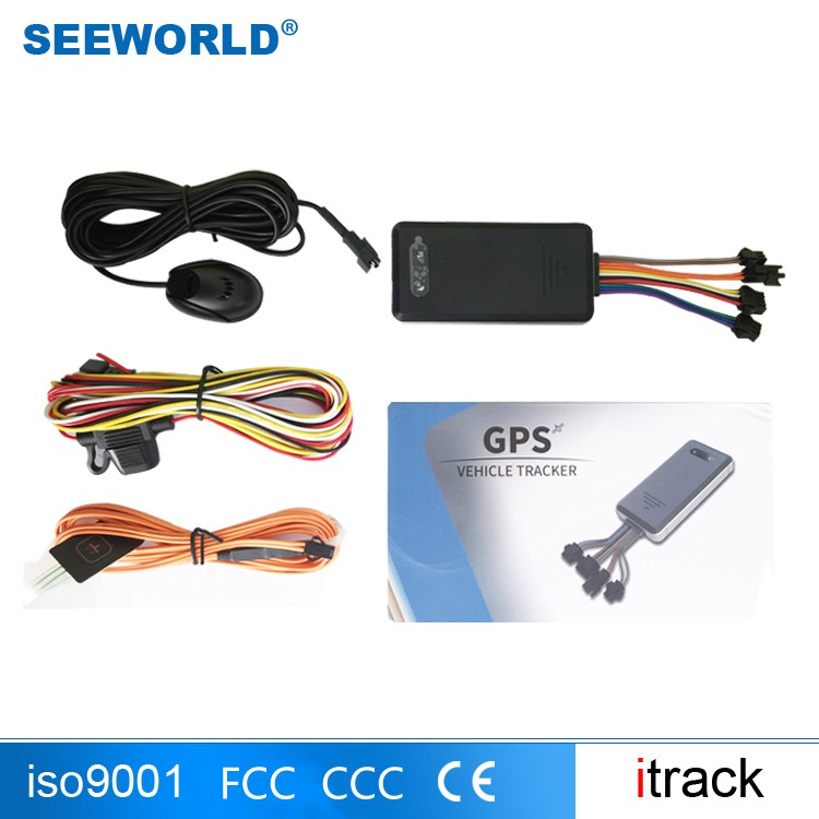 Mobile phone App Tracking device with free web platform serve Equipment tracking S06W