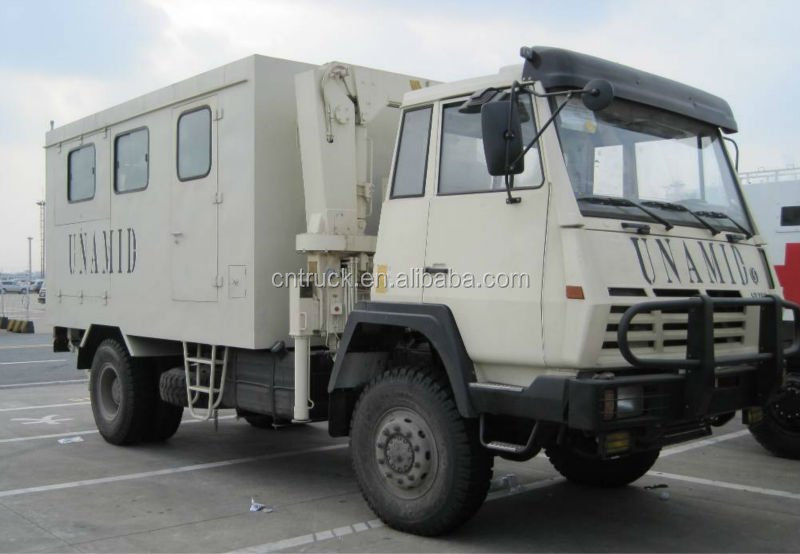 export military mobile workshop truck for sale