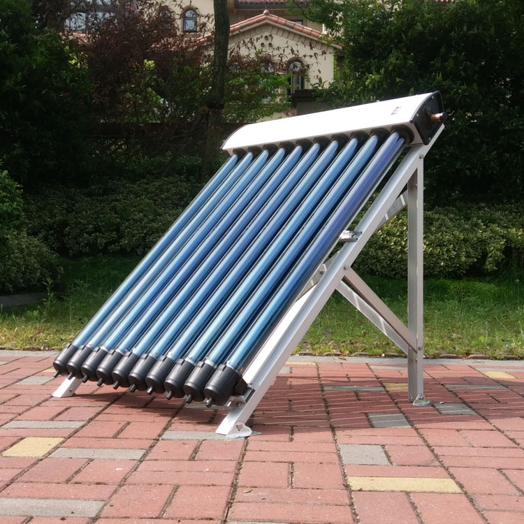 Solar water heater heat pipe copper solar collector