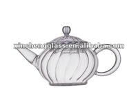hand-made prefessional quick classic glass hot coffee pot with candle