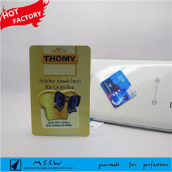 Mini small size mobile phone sticky wipe