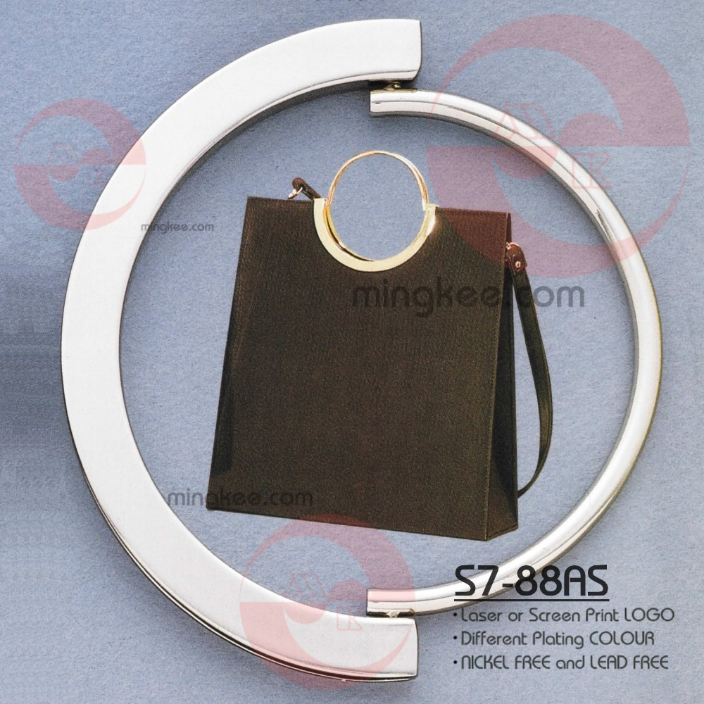 Zinc Alloy Brass Metal Making Genuine Leather Bag Handle