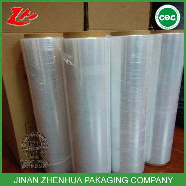 high tensile tasteless plastic wrap machine stretch film jumbo roll