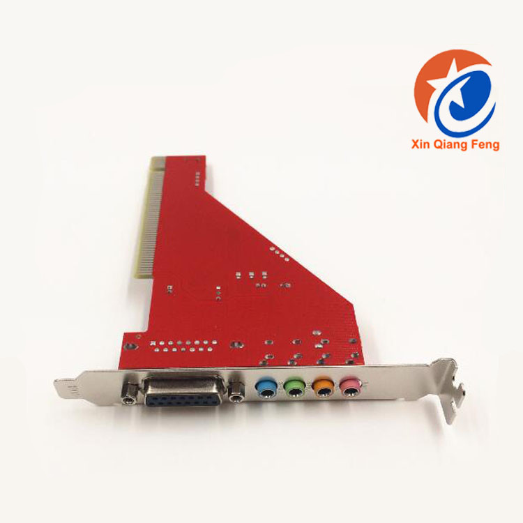 Red ESS 4.1 3d sound card usb driver mini pci sound card For PC Computer
