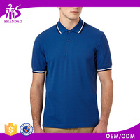 Guangzhou Wholesale Manufacturer Private Label 200g 35% Cotton 65% Polyester Short Sleeve Men Clothing