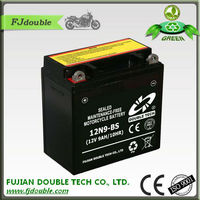 rechargeable lead acid battery desulfator 12v 9ah, good price 12N9-BS motorcycle battery, motorcycle parts