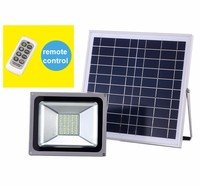 high lumen distant control Solar Panel LED solar power lamp outdoor solar led floodlight lighting sunshine flood street lights