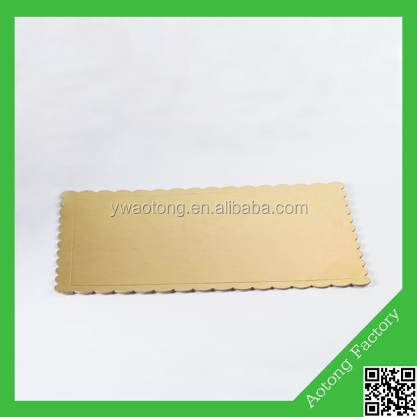 Golden paper wholesale cake boards,wedding cake paper plates,disposable paper plate
