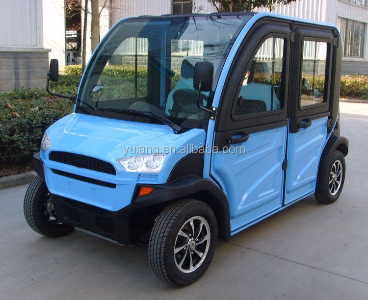 Utility terrain vehicle 4 seats UTV electric golf cart