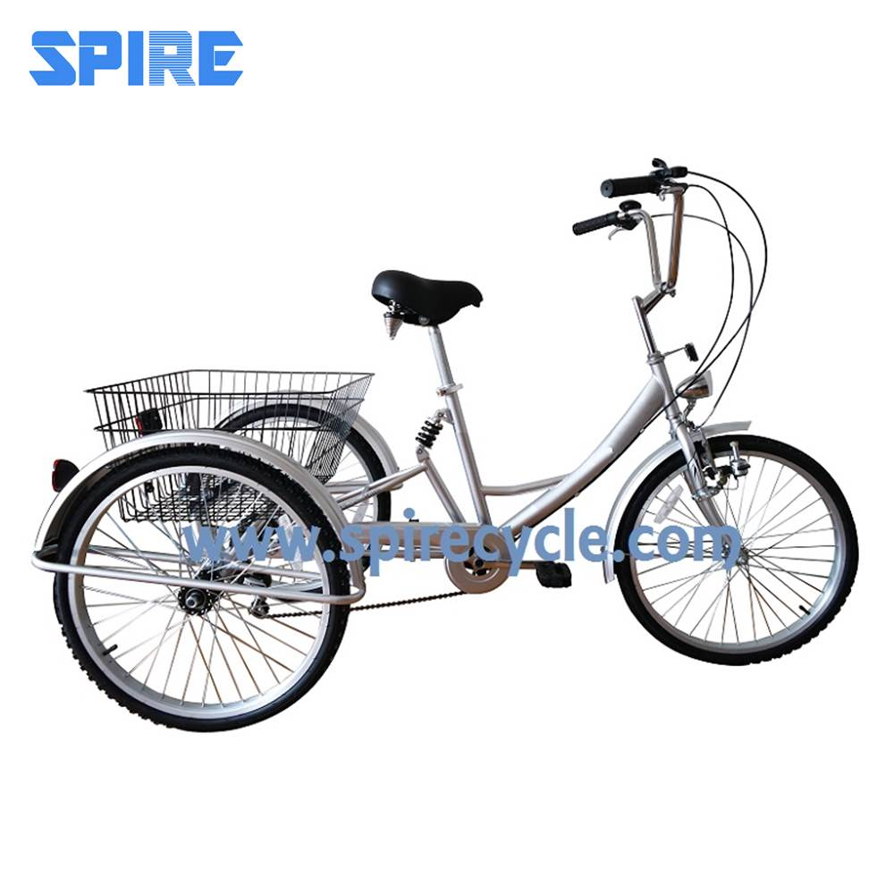 bicicletas Adult transport tricycle with suspension trike bike