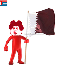 2018 Qatar country hand flag HOT SALE
