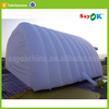 large inflatable car garage warehouse storage tunnel tent with rooms