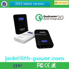 Qc 2.0 Universal Power Bank,quick charge 2.0 power bank,quick charge power bank