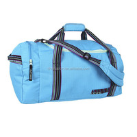 Custom made sports bag with shoe compartment for promotion