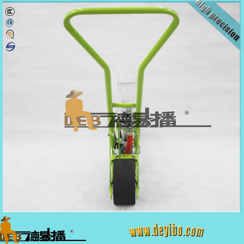 onion seeder/small seed planting machine/hand push seeder with ferlizer