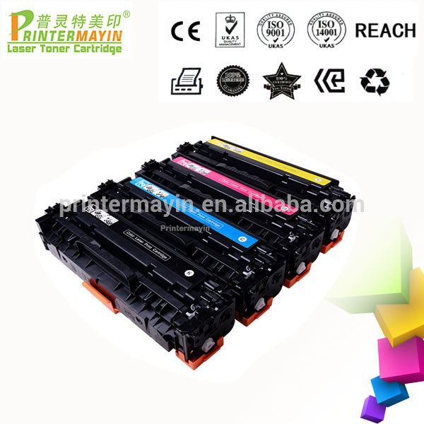 Factory supplied Black And Color Printer Laser Remanufactured Toner Cartridges FOR USE IN HP MFP M476DW/476DN/476NW